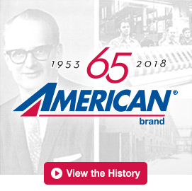 American brand Celebrates 65 Years - View the History