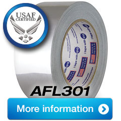 New ALF301 Chemical Resistant USAF Certified Foil Tape
