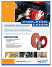 AFT 200 - AFT 450 DOUBLE-COATED ACRYLIC FOAM TAPES