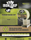 IRON GRIP PREMIUM PACKING TAPE