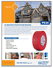 PE34 UV RESISTANT POLYETHYLENE TAPE
