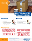CARTON SEALING TAPE PRINT SELL SHEET